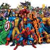 Онлайн флешмоб героев фильмов и комиксов