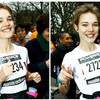 Наталья Водянова приняла участие в ежегодном марафоне Парижа, 4 марта