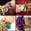 Новый тренд: Arm candy, Arm party или Bracelet stacking