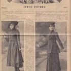Парижские моды 1913-1916 гг