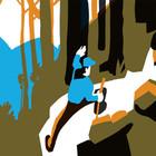 Отдых в горах в иллюстрациях Виктора Меламеда