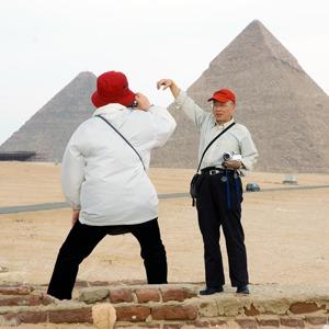 Японские туристы по всему миру