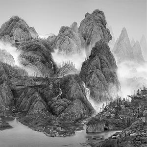 Мрачное будущее на коллаже китайского художника