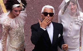 Карл Лагерфельд для Chanel: взгляд назад
