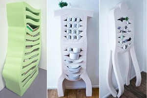 Голландские дизайнеры создали линейку мягких шкафов