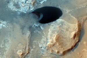 Фото дня: синие пятна на Марсе