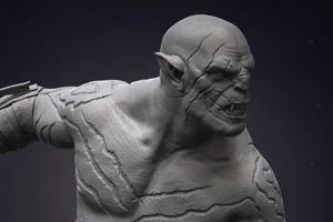 Концепт: супергероев изобразили в виде классических скульптур