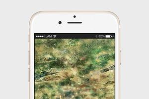 Сайт дня: обои для айфонов из спутниковых карт