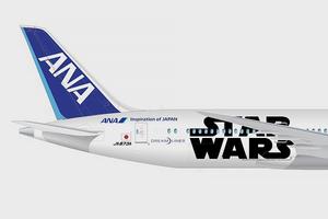 Авиакомпания показала перекраску самолёта под R2-D2