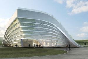 Архитектура дня: объединённые в одно целое 4 павильона