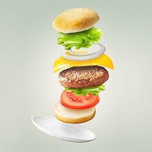 Чем снимки бургеров похожи на порнографию?