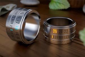 Ring Clock — часы, которые можно надеть на палец