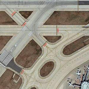 Завораживающий вид на аэропорты с высоты птичьего полёта