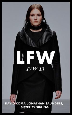 Неделя моды в Лондоне:  Дни 2 и 3