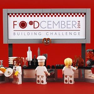 Как выглядит еда, сделанная из LEGO