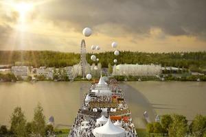 OMA построит во Франции многофункциональный мост