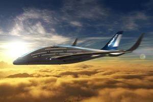 Дизайнер показал проект самолёта будущего