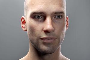 Видео: гиперреалистичная анимация человеческого лица