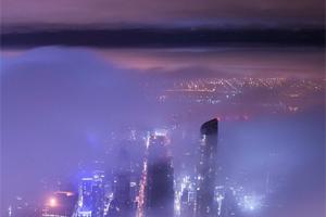 Инстаграм дня: фото с недостроенного небоскреба в Нью-Йорке