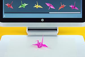 HP анонсировала компьютер без клавиатуры и мыши