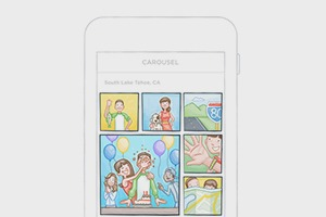 Новое приложение Dropbox организует воспоминания в «облаке»