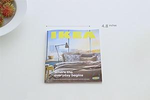 IKEA прорекламировала каталог мебели в стиле Apple