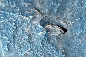 Фото дня: необычные породы на Марсе