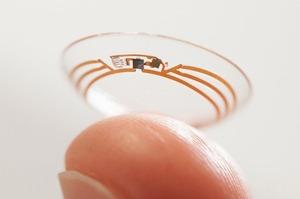 Google представили «умные» контактные линзы для диабетиков