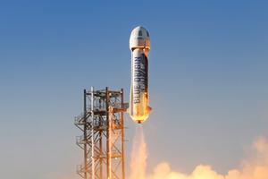 Впервые посажен побывавший в космосе разгонный блок ракеты