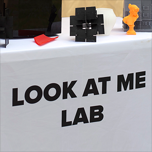 Полевая 3D-лаборатория Look At Me на «Пикнике Афиши»