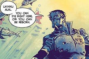 Российский художник Артём Траханов рисует Undertow для Image Comics