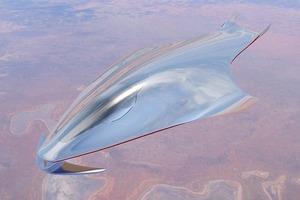 Дизайнер Ferrari создал модель космического корабля