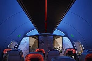 Nike и Teague разработали концепцию самолета для спортивных команд