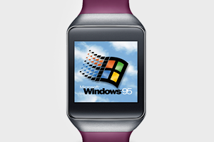 Подросток установил Windows 95 на смарт-часы