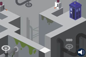 Google запустил онлайн-игру про Доктора Кто