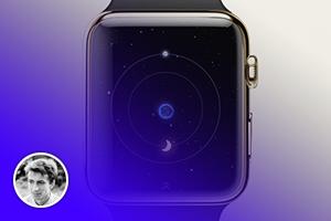 Как Apple Watch встретили на Behance и Dribbble
