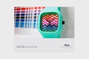 Facebook начала тестировать кнопку «Купить»