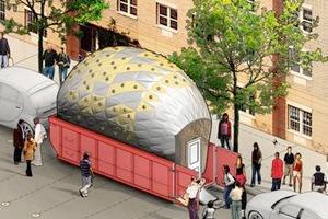 Мусорный контейнер в Нью-Йорке превратят в мобильную лабораторию