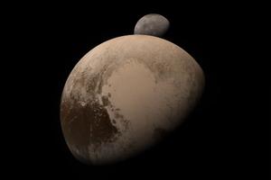 Подлёт New Horizons к Плутону и отлёт от него воссоздали в анимации