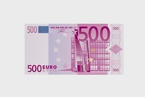 Художник в знак протеста изрисовал банкноты на 3555 евро