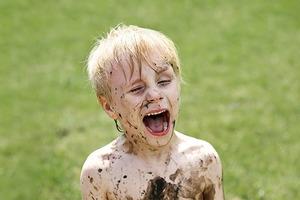 Головоломка на выходные: грязные дети
