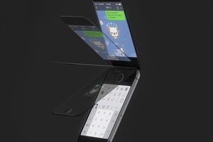 Дизайнер создал концепт раскладного iPhone 6