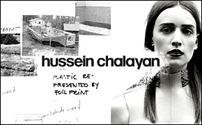 Хронология бренда: Hussein Chalayan