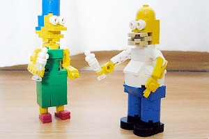 Симпсоны станут героями Lego