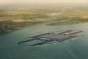 Аэропорт Лондона могут построить в устье Темзы