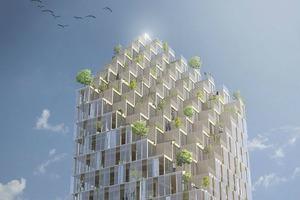 В Швеции хотят построить жилой небоскреб из дерева