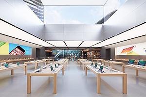Опубликованы фотографии первого магазина Apple бюро Foster + Partners
