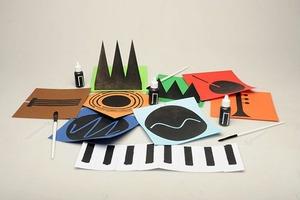 Детские рисунки превратили в музыкальные инструменты
