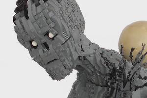 Реки Аида из греческой мифологии построили из LEGO