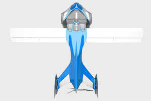 В Австрии представили летающий автомобиль